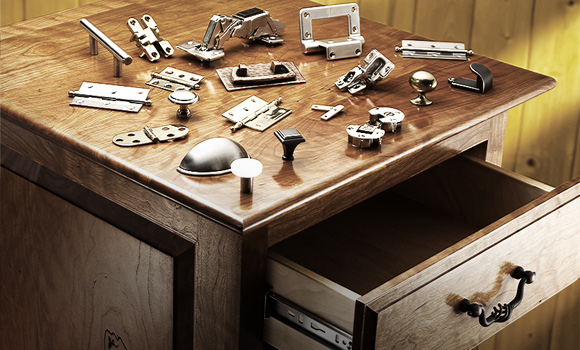 Hardware at Rockler: Drawer Slides, Hinges, Knobs, Pulls ...