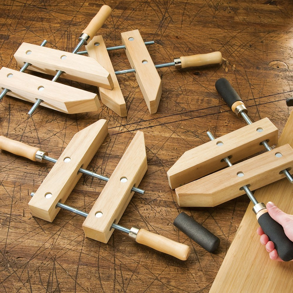 Wooden Handscrew Clamps