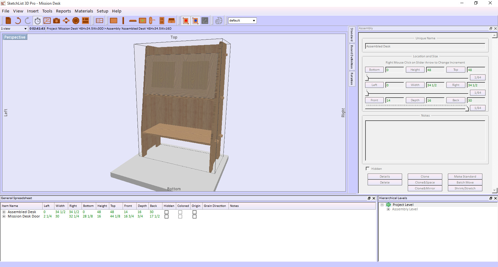 Sketchlist Furniture Software Version Windows Version Product Photo