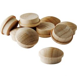 Screw Hole Buttons 3 8 Quot Diameter Rockler Woodworking And