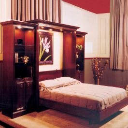 Bookcase Plan Only For Murphy Bed Rockler Woodworking
