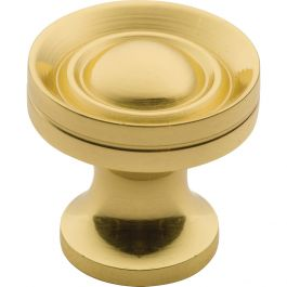 Solid Brass 5 8 Classic Knob Rockler Woodworking And