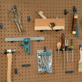 32 Piece Variety Pack Of Pegboard Holders Rockler