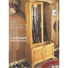Woodworker S Journal Gun Bookcase And Curio Cabinet Plan