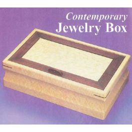 Woodworker S Journal Contemporary Jewelry Box Plan
