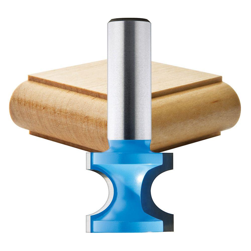 1//4-inch Shank New Radius Bull nose Half Round Router Bit 1//2