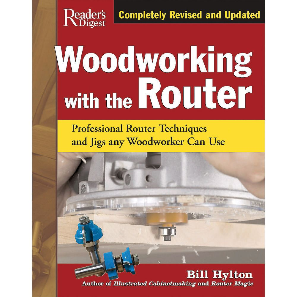 Woodworking With The Router Book Rockler Woodworking And Hardware