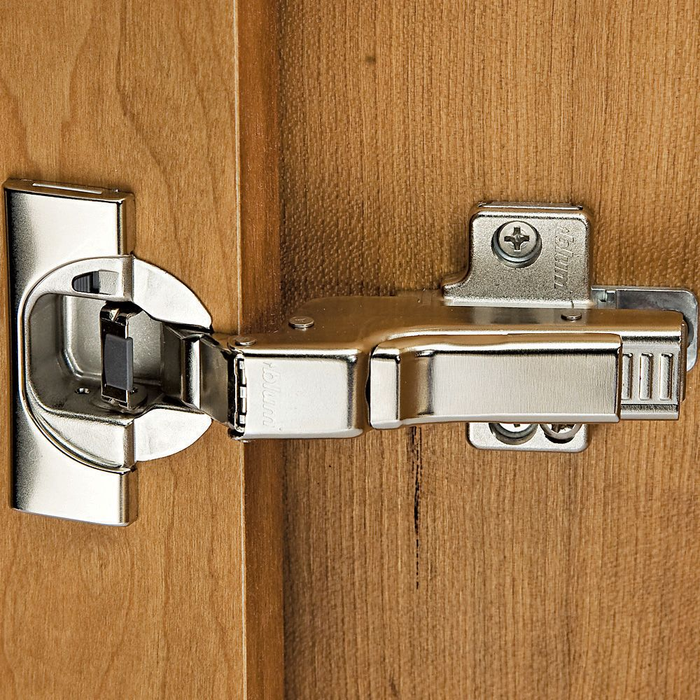 Blum Soft Close 110 Blumotion Clip Top Inset Hinges Pair Rockler Woodworking And Hardware