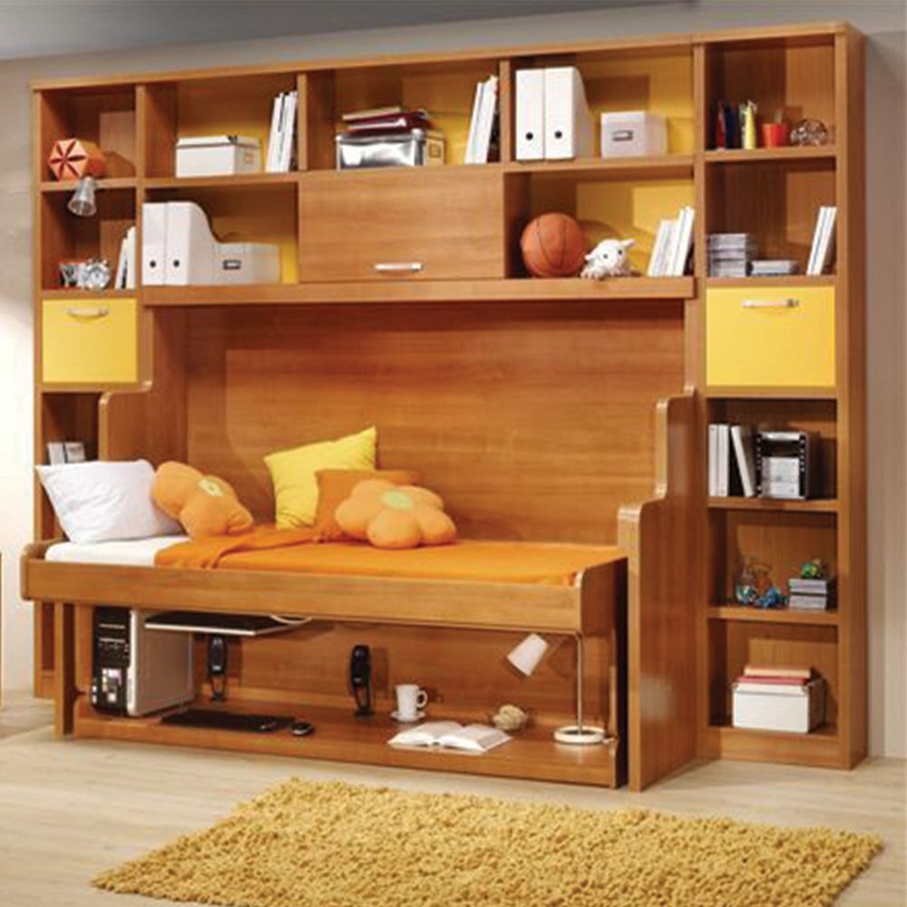 Fold Out Bed And Desk Mechanism, Twin Murphy Bed Desk Combination