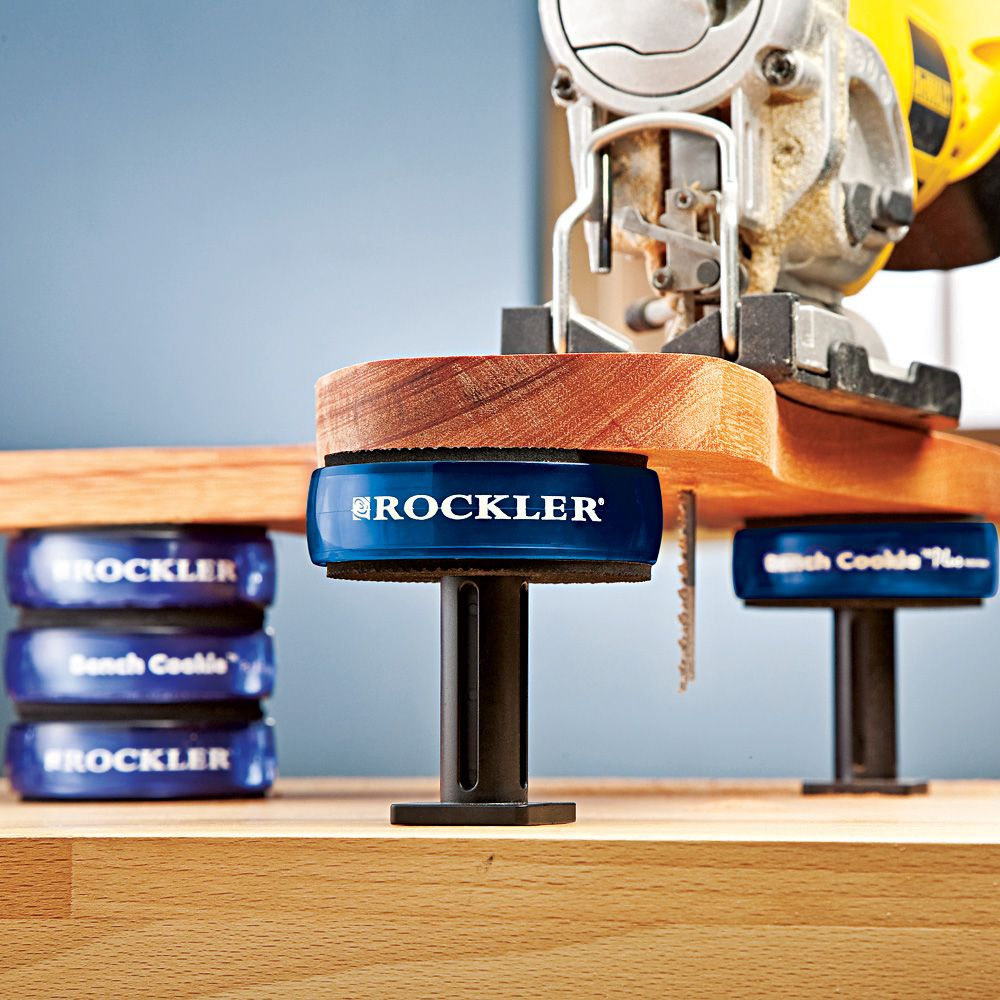 Risers Xl For Bench Cookie Plus 2 Or 3 Cookie Height 4 Pack Rockler Woodworking And Hardware