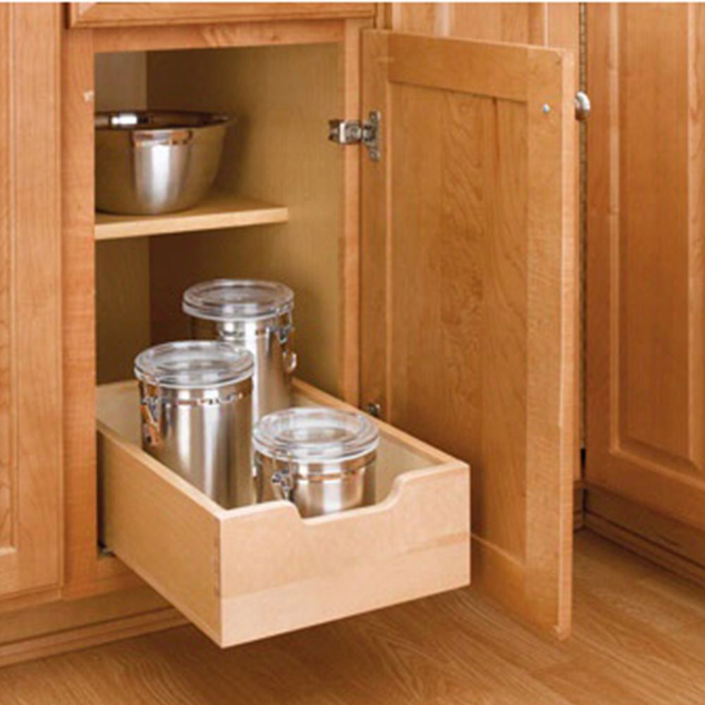 Small Wood Pull Out Drawer Wood Maple 4wdb 12 Rockler Woodworking And Hardware
