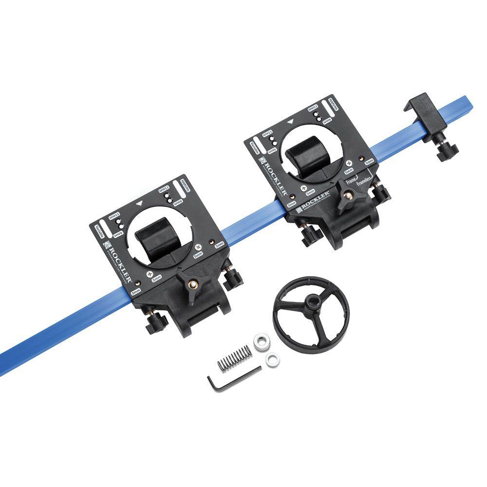 Rockler JIG IT® Deluxe Concealed Hinge Drilling System 19mm 3//4