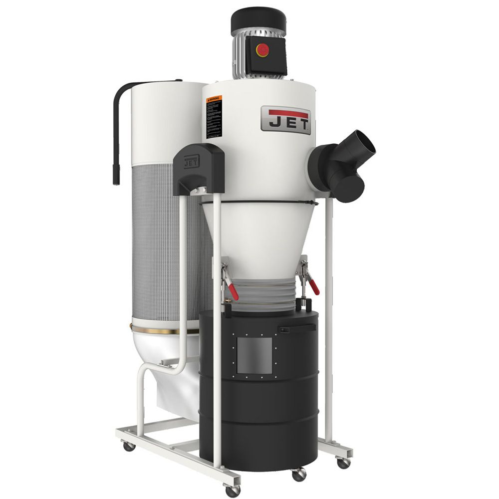 Jet 1 1 2hp Cyclone Dust Collector Rockler Woodworking And Hardware