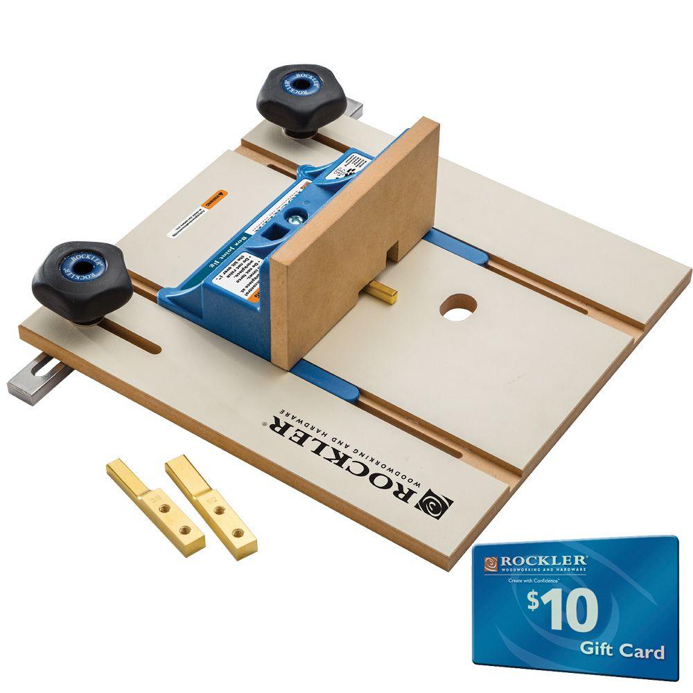 Rockler 306013 Box Joint Cauls 1//4