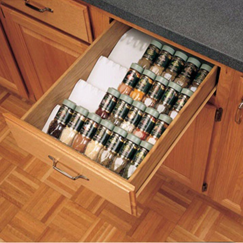 Kitchen Drawer Organizer Spice Tray Insert Rev A Shelf St50 Series Rockler Woodworking And Hardware