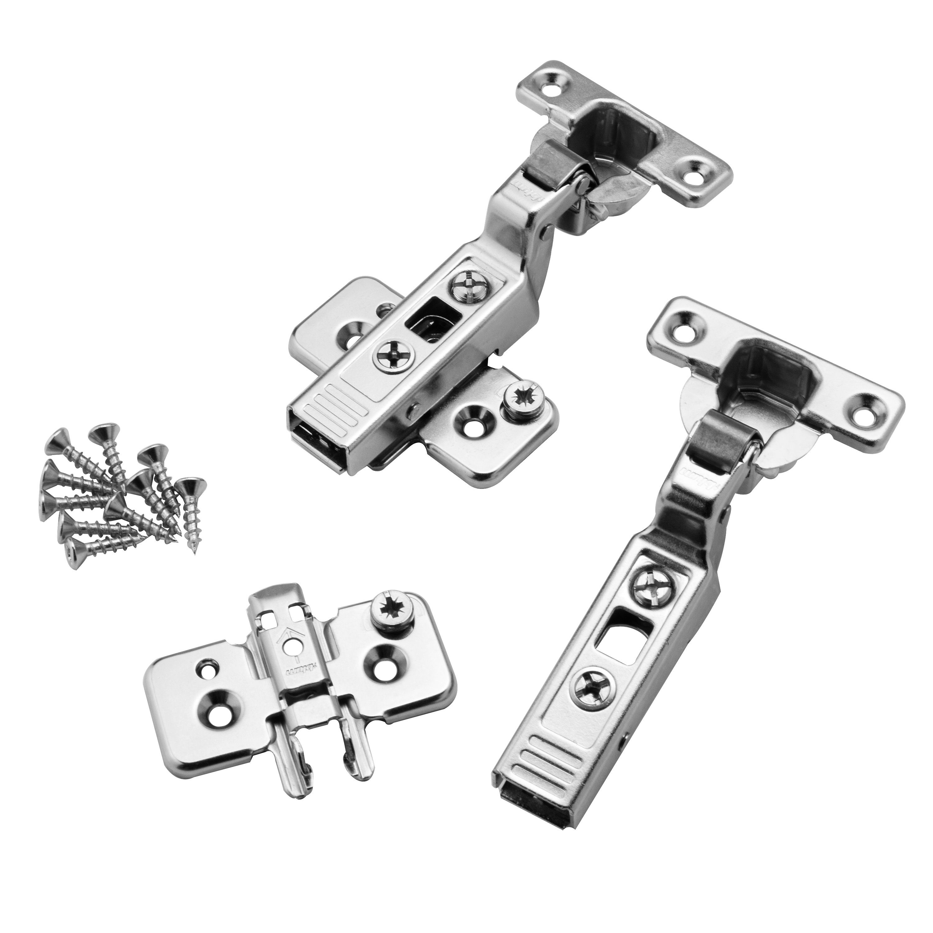 Mini Blum 174 26mm 90 176 Clip On Frameless Inset Hinge