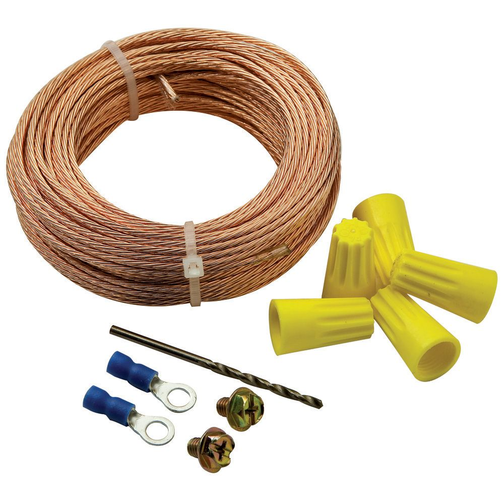 Power Point Electrical Wiring Ducted Vacuuming Dust Grounding Kit Rockler Woodworking And Hardware