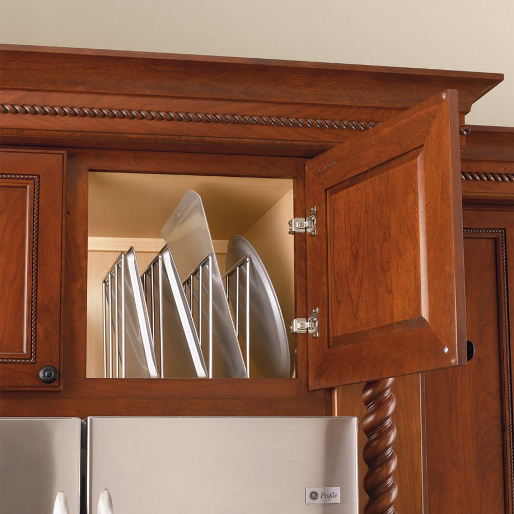 Chrome Cabinet Tray Divider Rev A Shelf 596 Series
