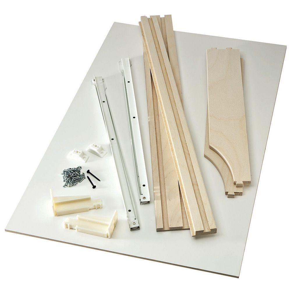 Birch Pullout Shelf Kits for Kitchen or Bath-Shelf Kit ...