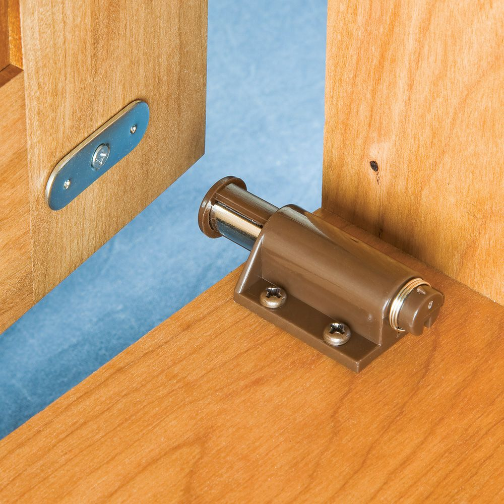 Single Door Magnetic Touch Latch Select Color Rockler