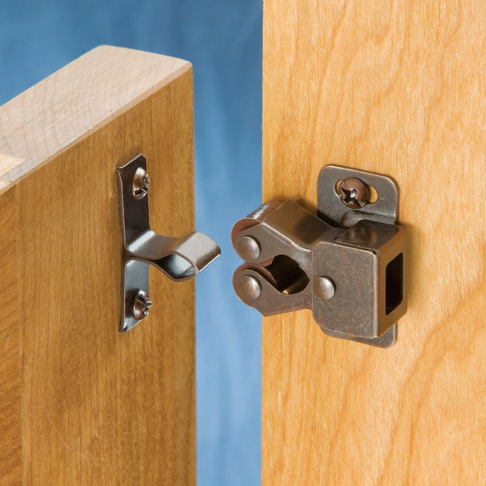 Double Roller Catch With Spring Rockler Woodworking And