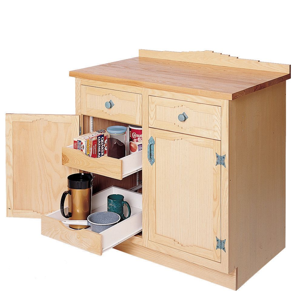 Kitchen Cabinet Drawer Kits: Shelf Bracket/ Slide Kit, Set