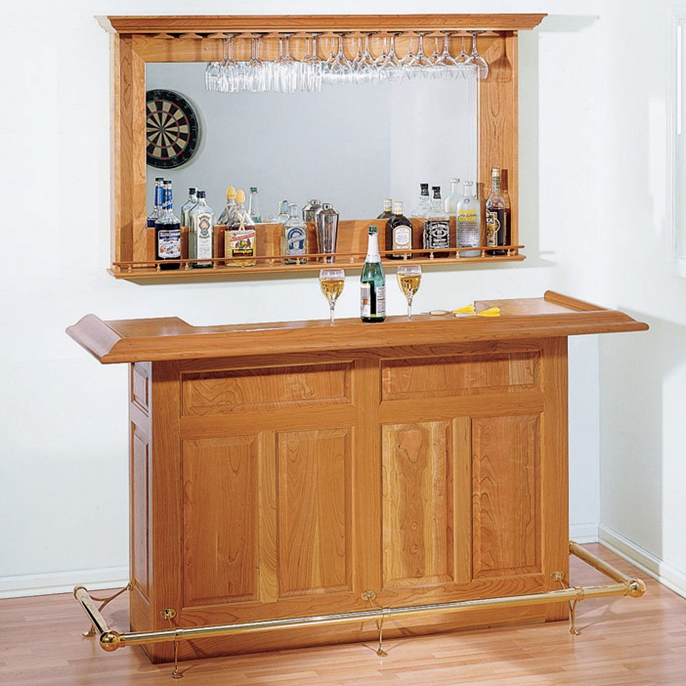Home Bar Plan   Rockler Woodworking and Hardware
