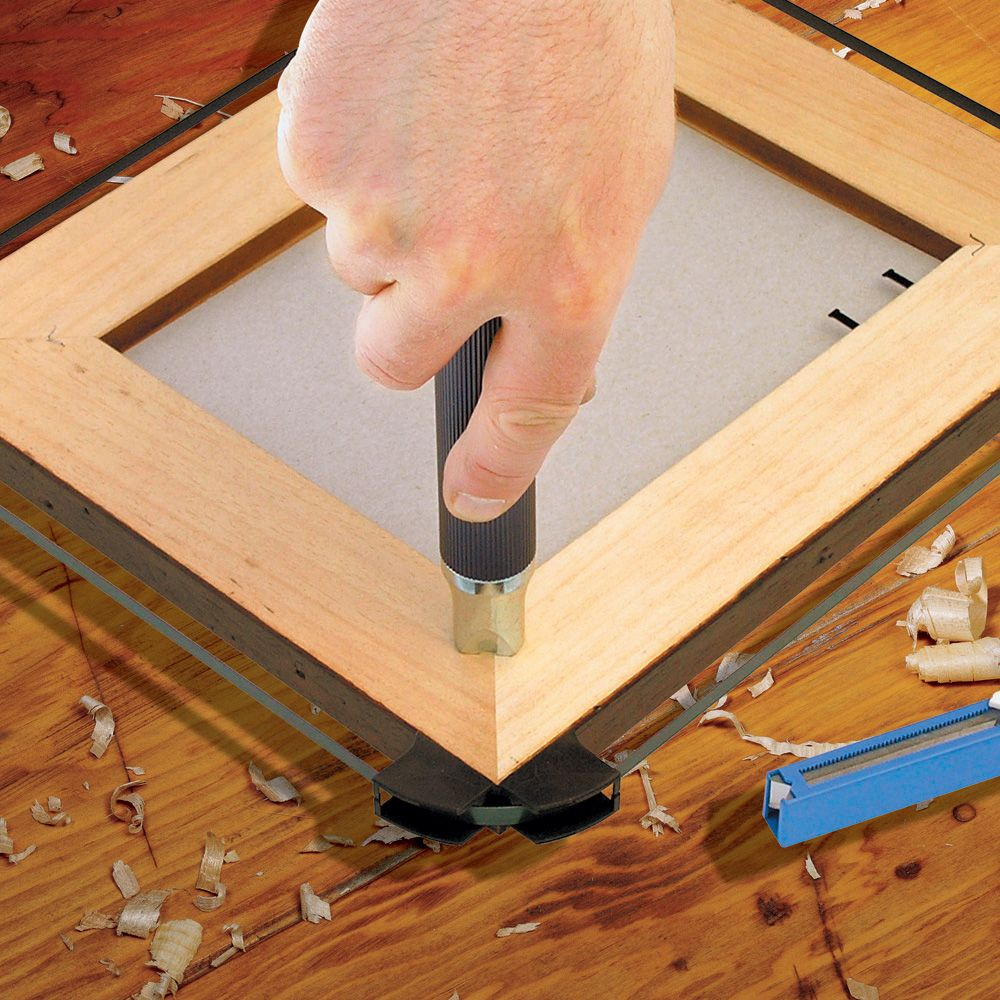 Pushmaster Picture Frame Joiner Kit   Rockler Woodworking and Hardware