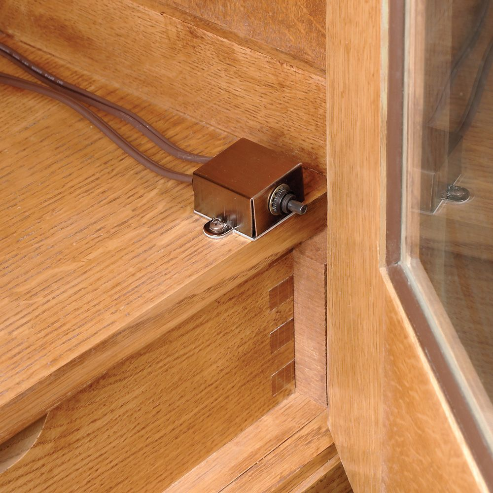 Pressure Switch Rockler Woodworking And Hardware Cabinet Light Wiring Diagram