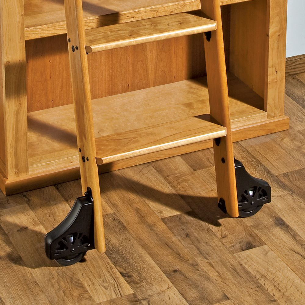 Rockler 10 Classic Rolling Library Ladder