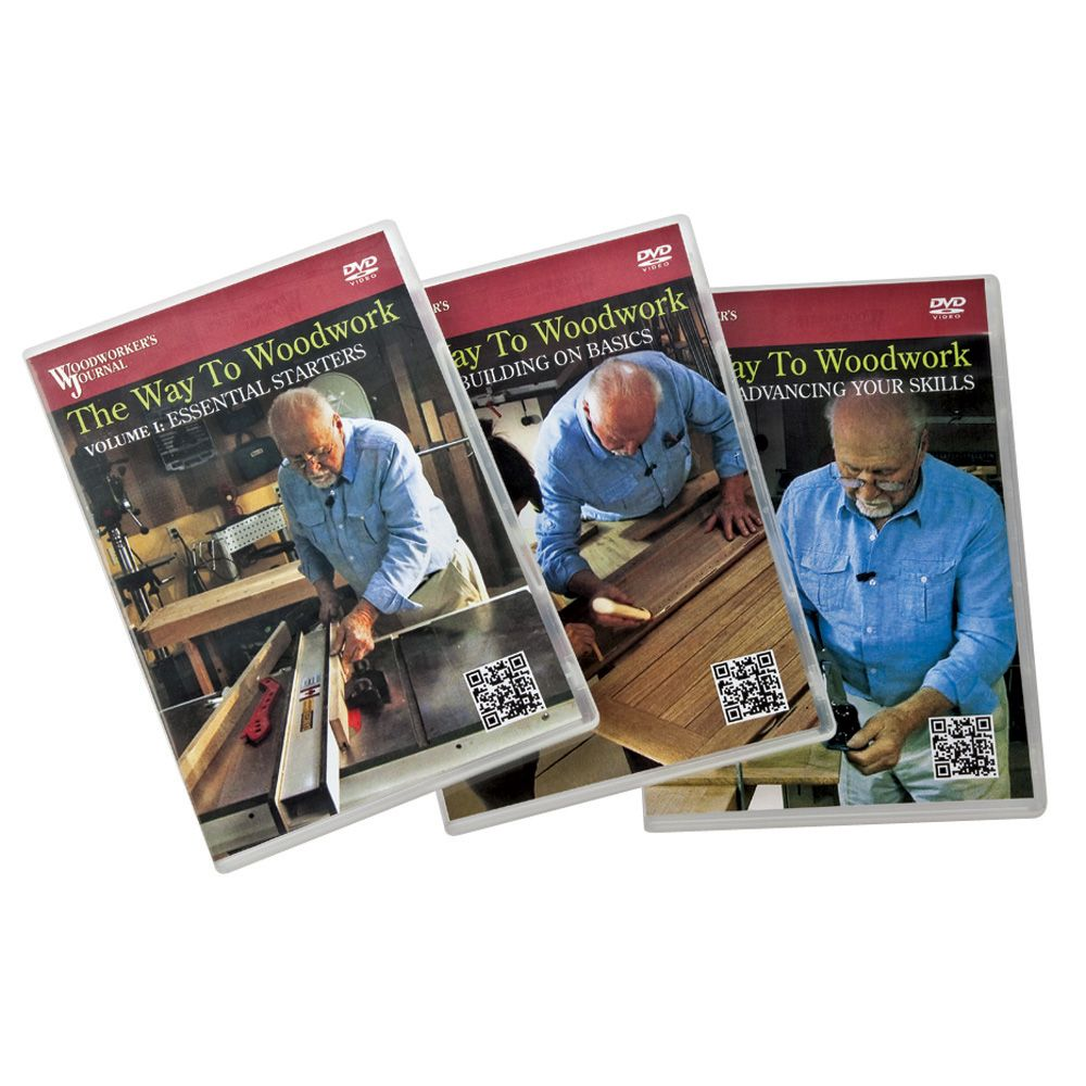 A Woodworkers Photo Journal The: The Way To Woodwork DVD Series From Woodworker's Journal