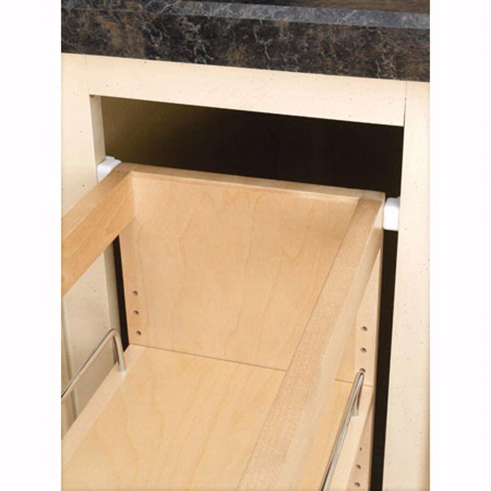 Base Cabinet Pullout Organizers, Rev A Shelf 448 Series Pullout Organizers