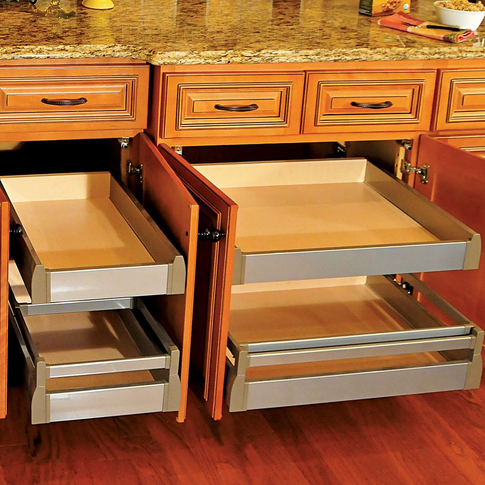 """1-1/4"""" QuikTray Rollout Shelf Systems-QuikTray Rollout"""