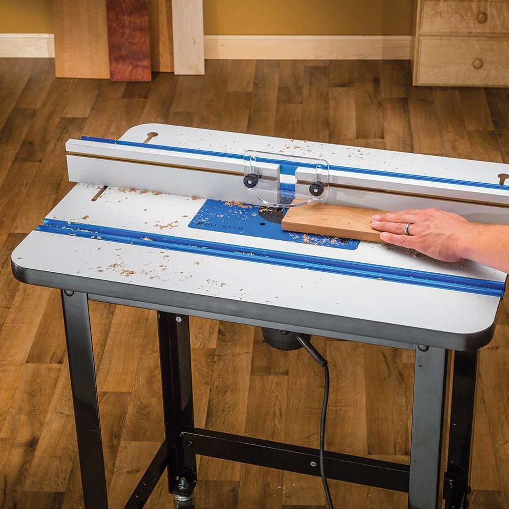 Rockler High Pressure Laminate Router Table Top Fence