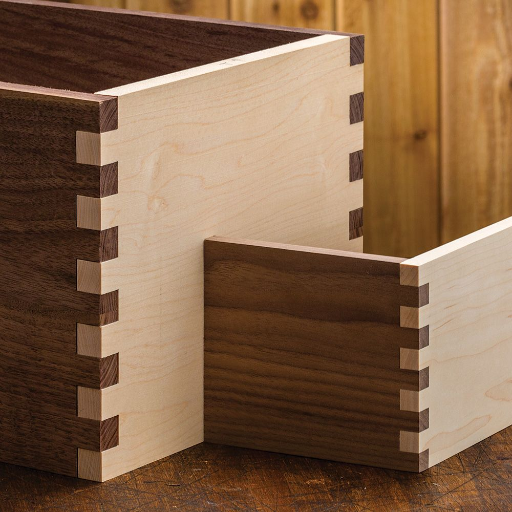 Project Gallery Wood Mode 1: Rockler XL Router Table Box Joint Jig