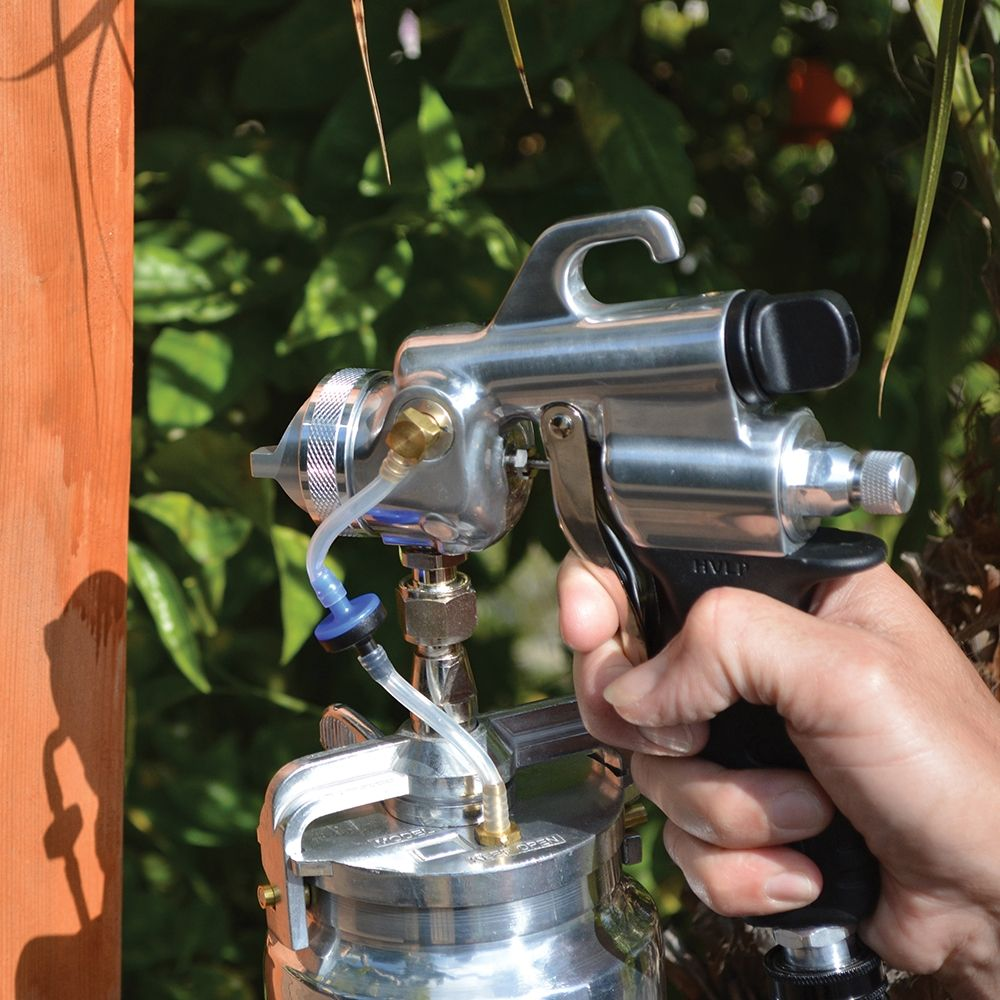 Apollo Power 5 Hvlp Spray System With Gravity Feed Gun