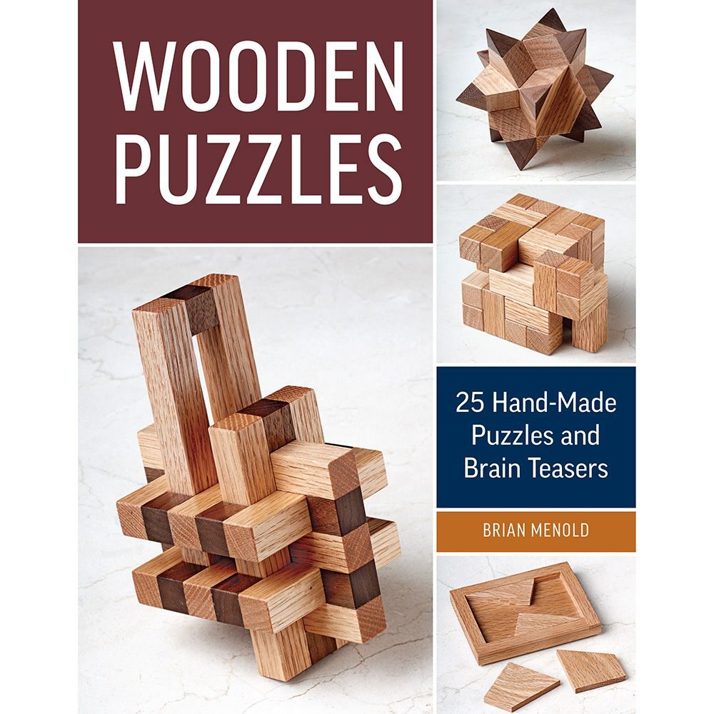 Wooden Puzzles, Paperback Book | Rockler Woodworking and ...