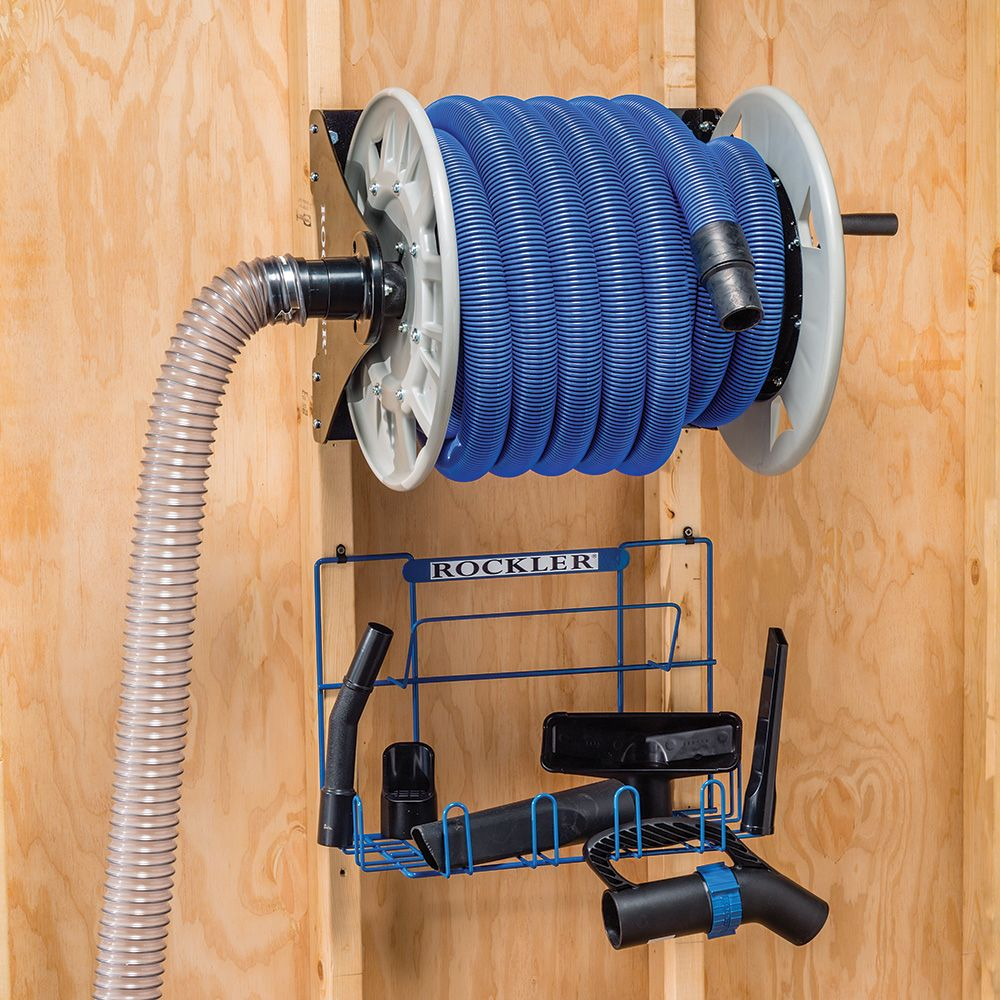 Dust Right® Shop Vacuum Hose Reel | Rockler Woodworking and Hardware