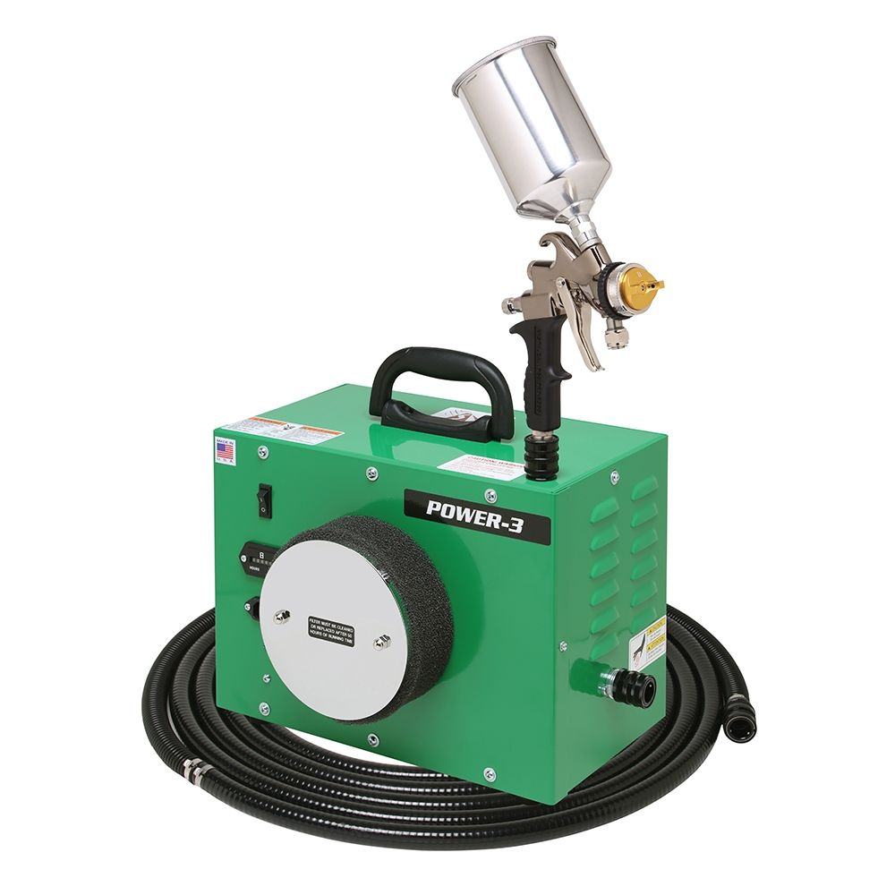Apollo Power 3 Hvlp Spray System With Gravity Feed Gun