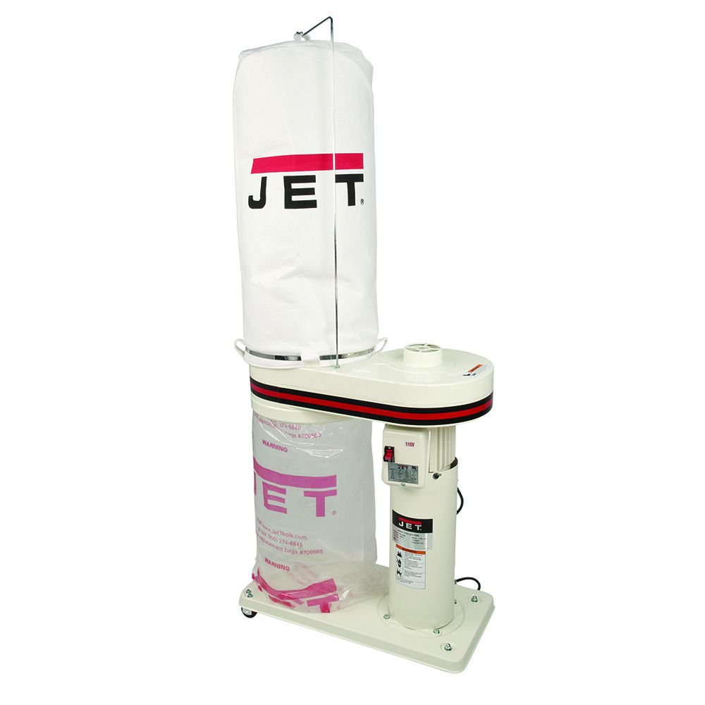 Jet Dc 650 Dust Collector With 5 Micron Bag Filter Kit