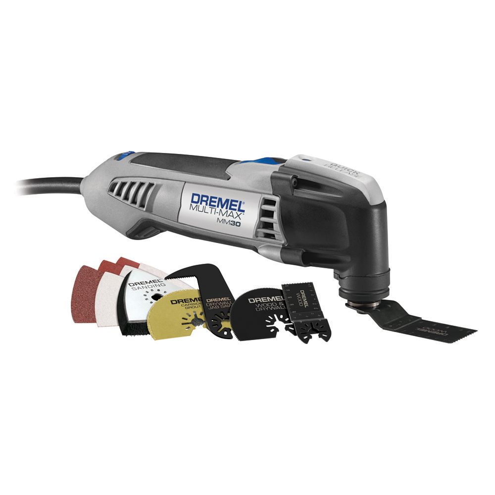 dremel multi max mm30 04 oscillating tool with accessory. Black Bedroom Furniture Sets. Home Design Ideas