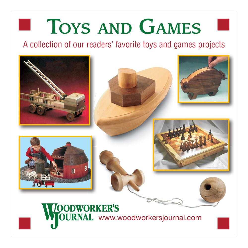 Woodworker S Journal Toys And Games Cd Rockler Woodworking And