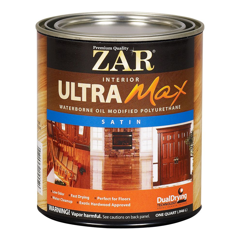Zar 174 Ultra Max Oil Modified Waterborne Polyurethane Satin