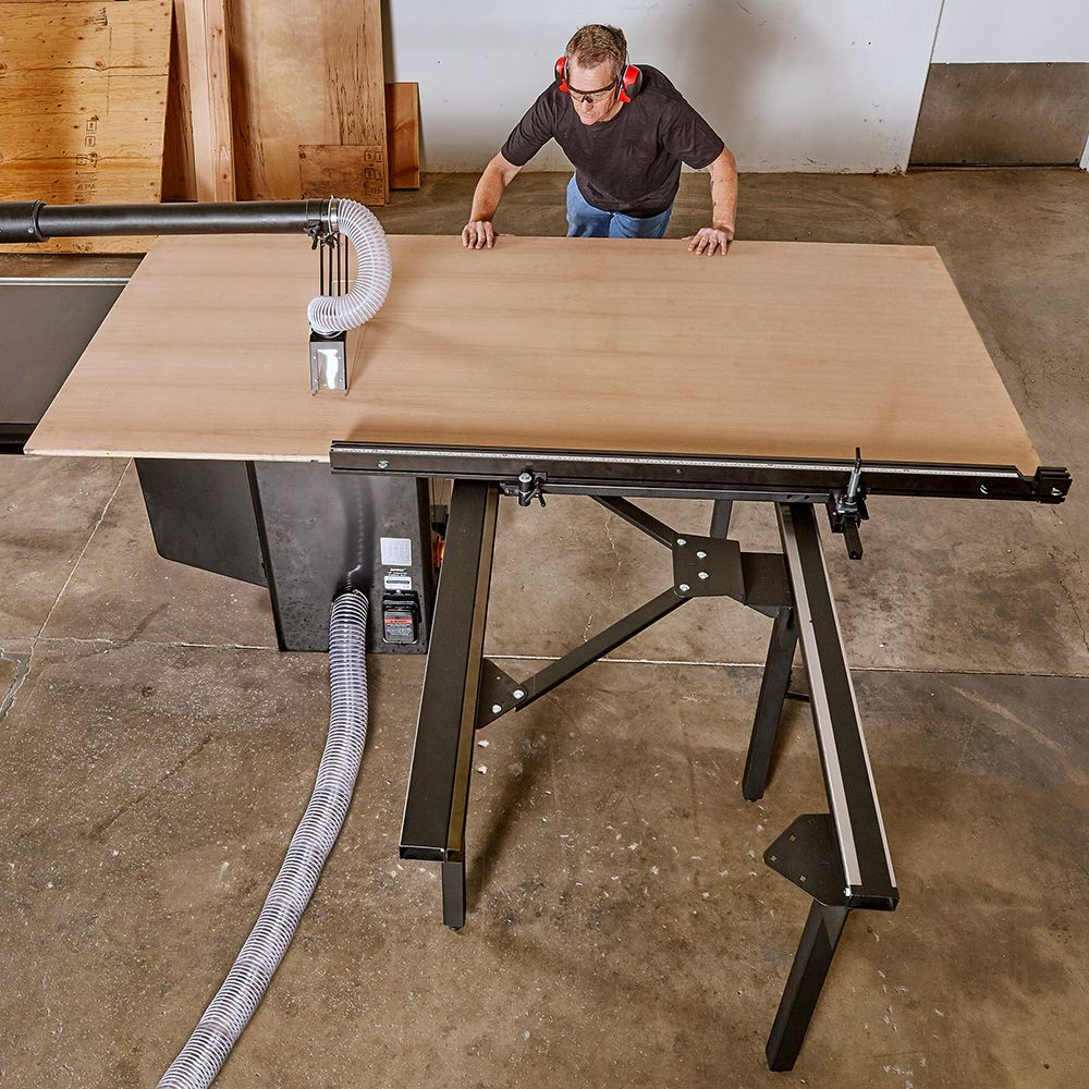 Sawstop Large Sliding Table Rockler Woodworking And Hardware