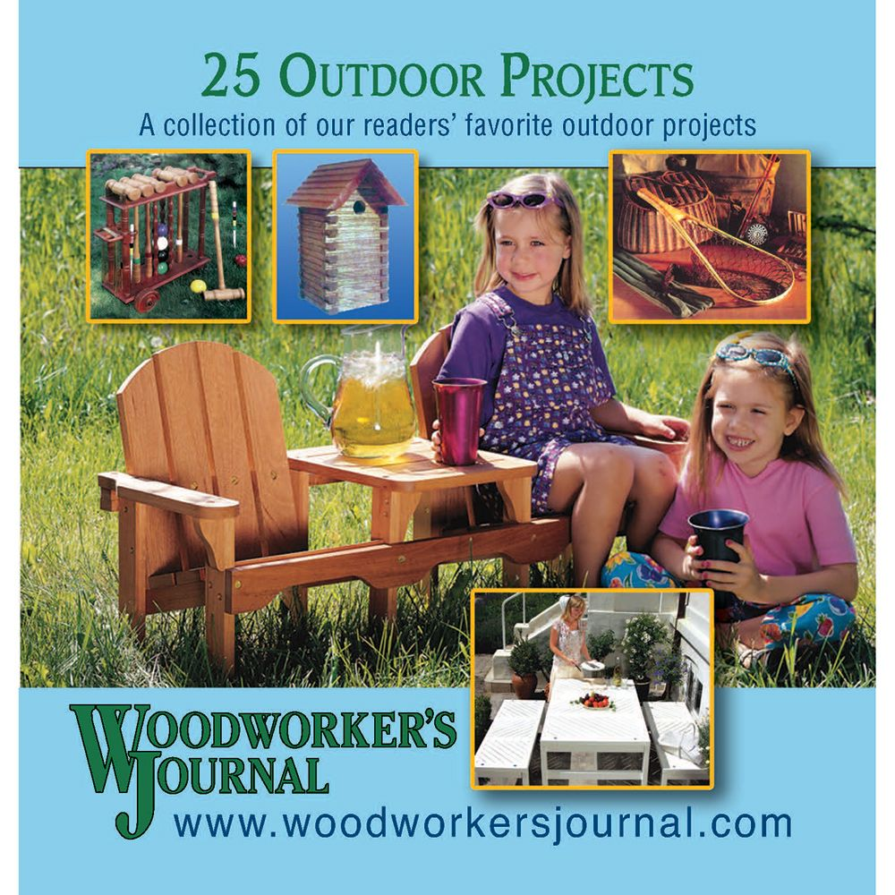 Woodworker S Journal 25 Outdoor Projects Cd Rockler Woodworking