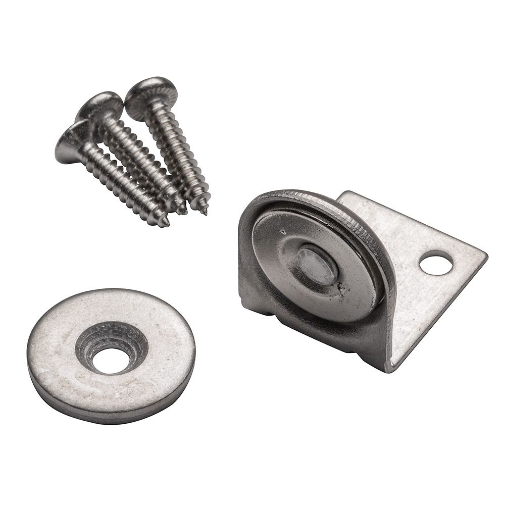 Angle-Mount Stainless Steel Magnetic Catch | Rockler Woodworking and on copper steel, crucible steel, low alloy steel, plastic steel, surgical stainless steel, high speed steel, matte steel, sae steel grades, aluminum steel, strong steel, purple steel, maraging steel, brown steel, flexible steel, spring steel, iron steel, color steel, austenitic stainless steel, jorgensen steel, natural steel, white steel, martensitic stainless steel, structural steel, hot-dip galvanizing, damascus steel, a36 steel, liquid steel, tool steel, weathering steel, majestic steel, polyvinyl chloride, steel grades,
