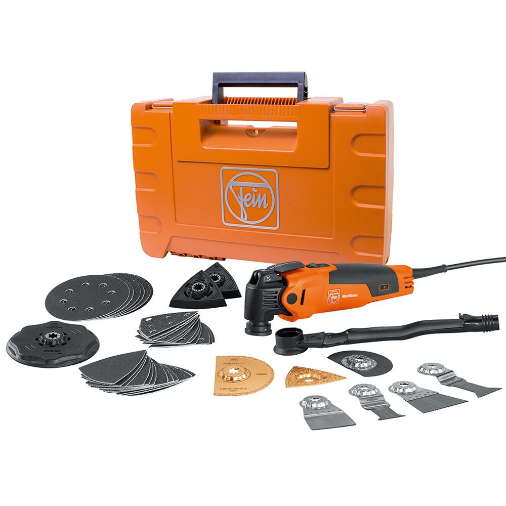 fein fmm350qsl multimaster oscillating multi-tool with top kit and