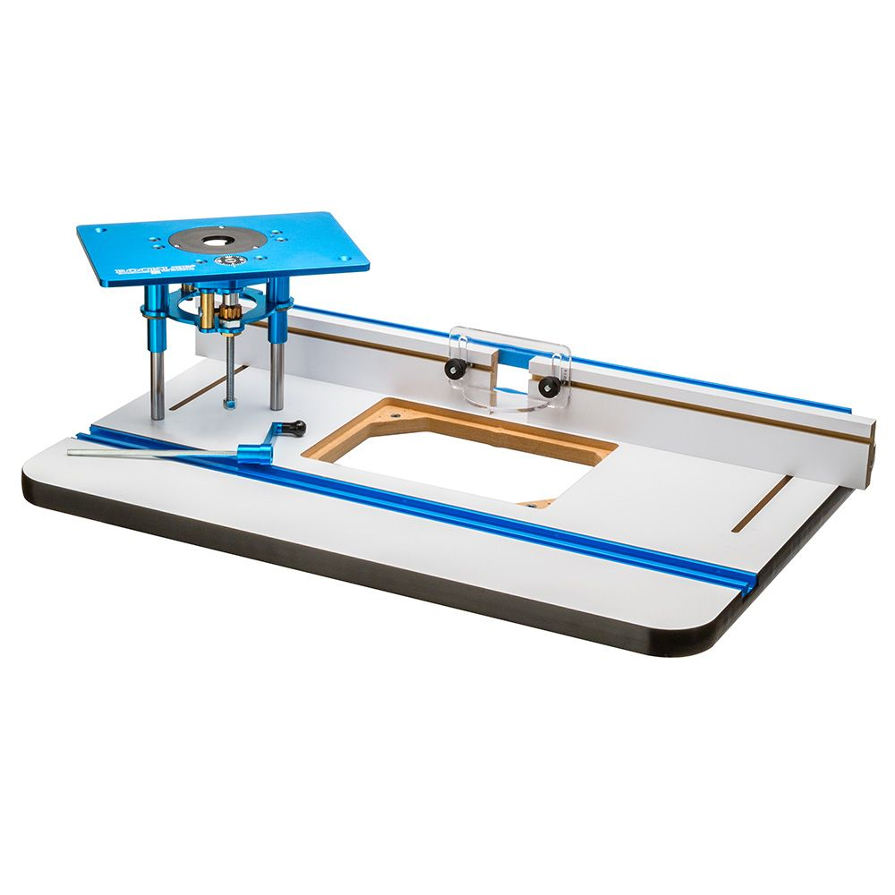 Rockler High Pressure Laminate Router Table Fence And Fx Lift