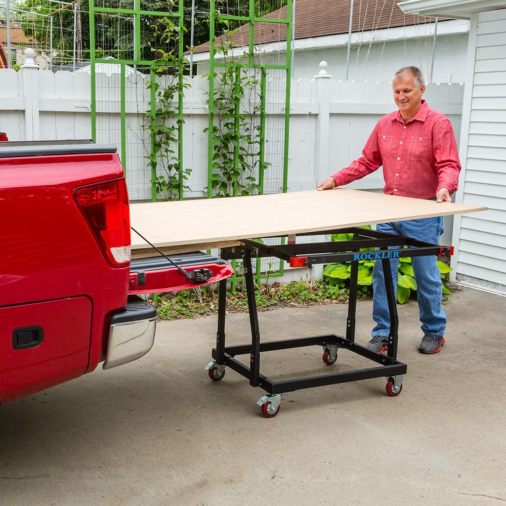 Image Result For Best Woodshop Large Material Storage: Rockler Material Mate Panel Cart And Shop Stand