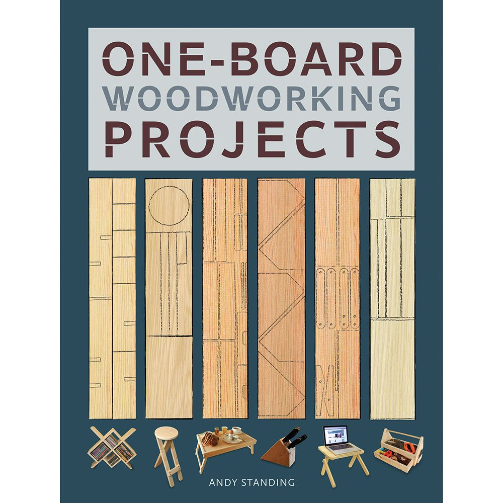 One Board Woodworking Projects Book Rockler Woodworking And Hardware
